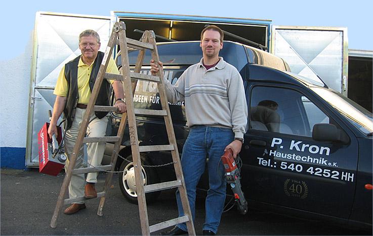 Das Team von Peter Kron Haustechnik
